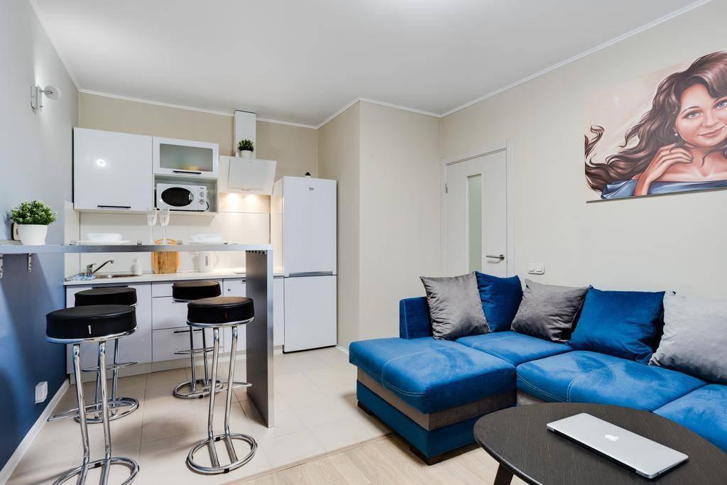 Дизайн квартиры 37 кв. м. – планировки, зонирование, примеры и фото ремонта