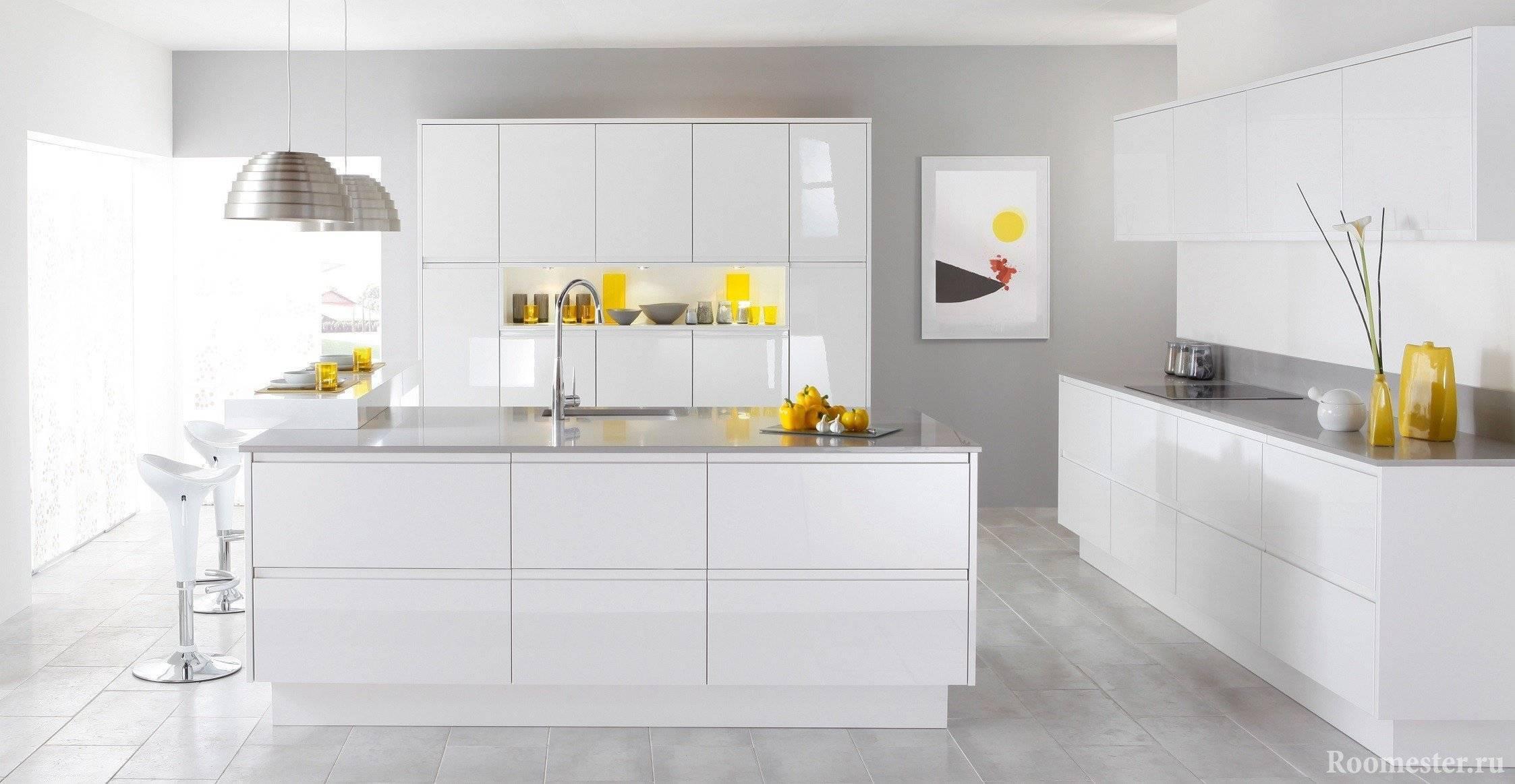 Дизайн желтой кухни: основные правила оформления, стили, полезные советы