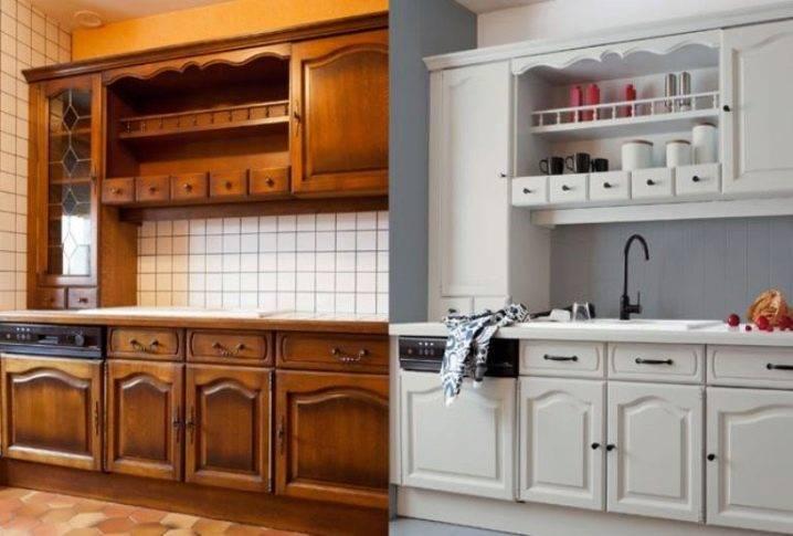 Как перекрасить кухонный гарнитур своими руками: какой краской