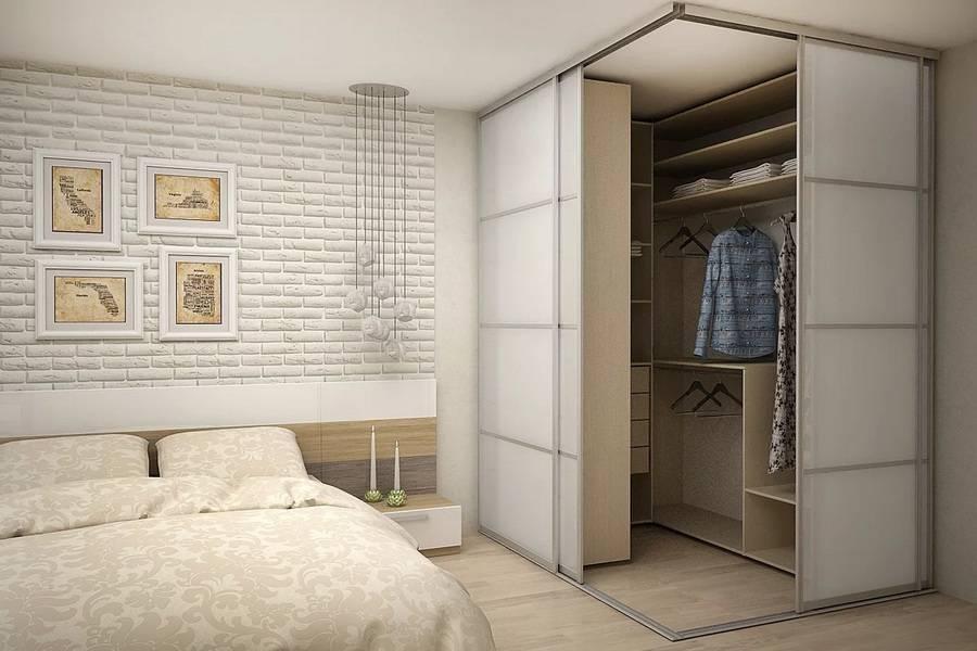 100 фото размещения гардеробной в спальне