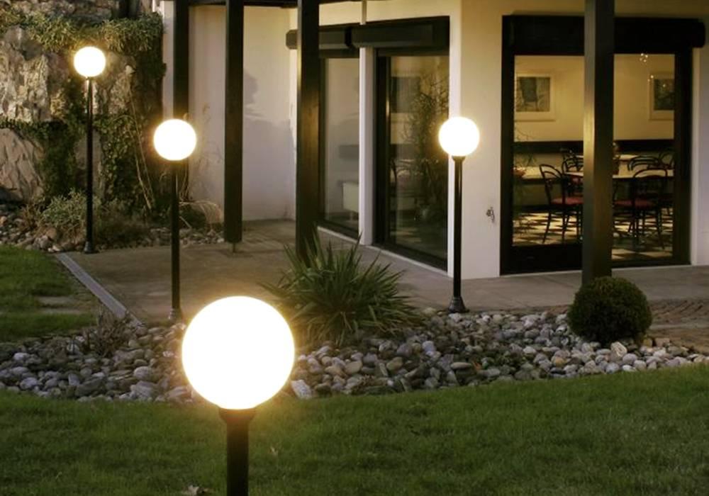Подсветка деревьев: разновидности светильников и их правильное расположение
