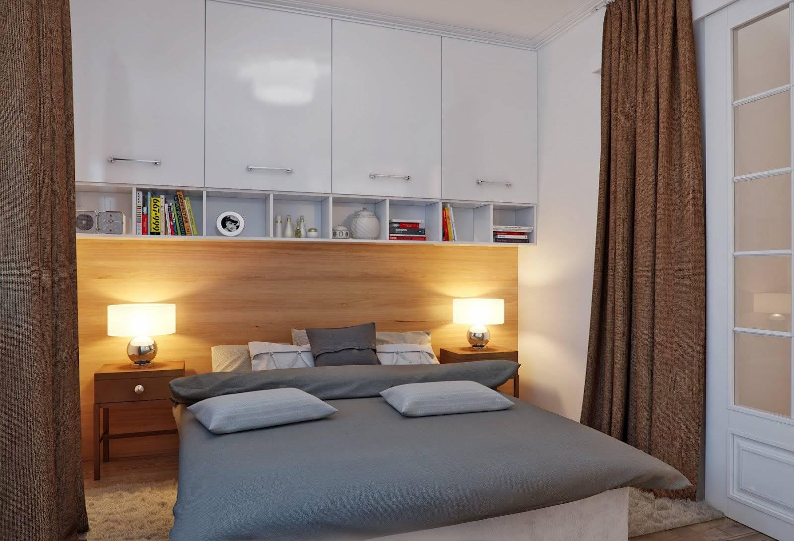 Если спальня без окон. дизайн интерьера
