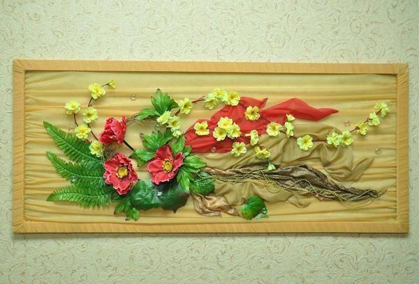 Мои панно из сухоцветов   страна мастеров