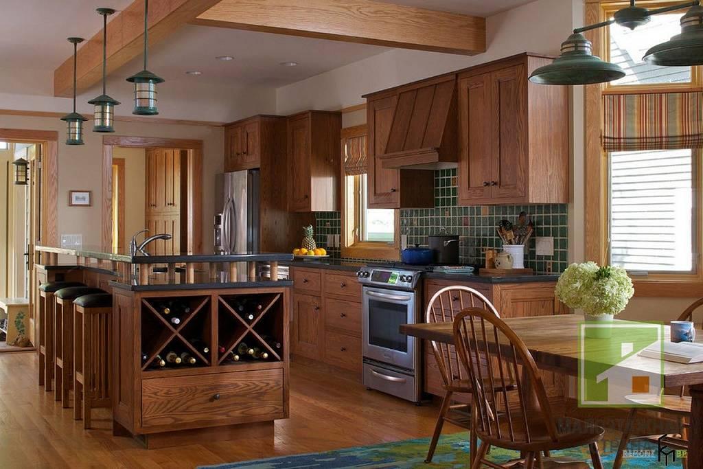 Интерьер и планировка кухни-гостиной в частном доме: популярные дизайнерские решения