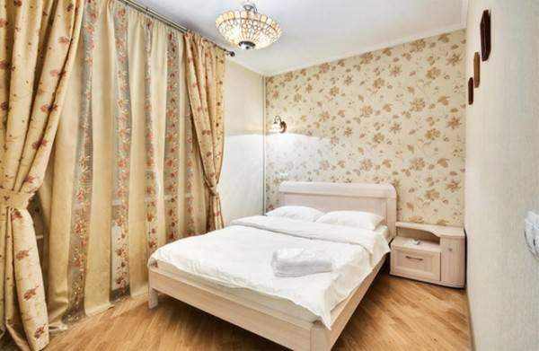 Комбинирование обоев в спальне — 120 фото оригинального дизайна