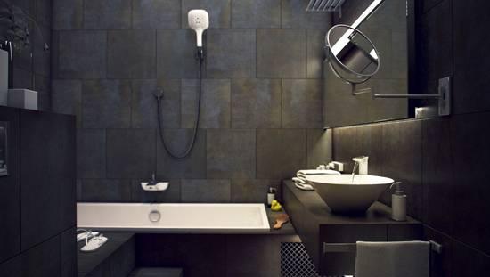Туалет (уборная) в стиле лофт: фото, видео, дизайн и особенности ремонта