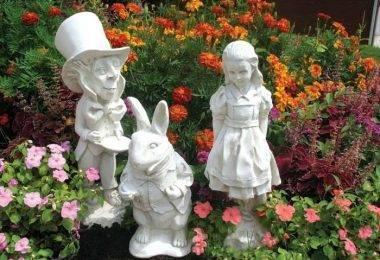 Самые красивые садовые скульптуры: 105 фото стильных вариантов украшения сада или участка