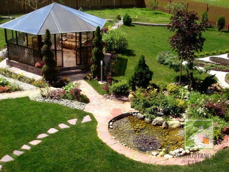 Ландшафтный дизайн загородного дома – новые тренды и классика оформления