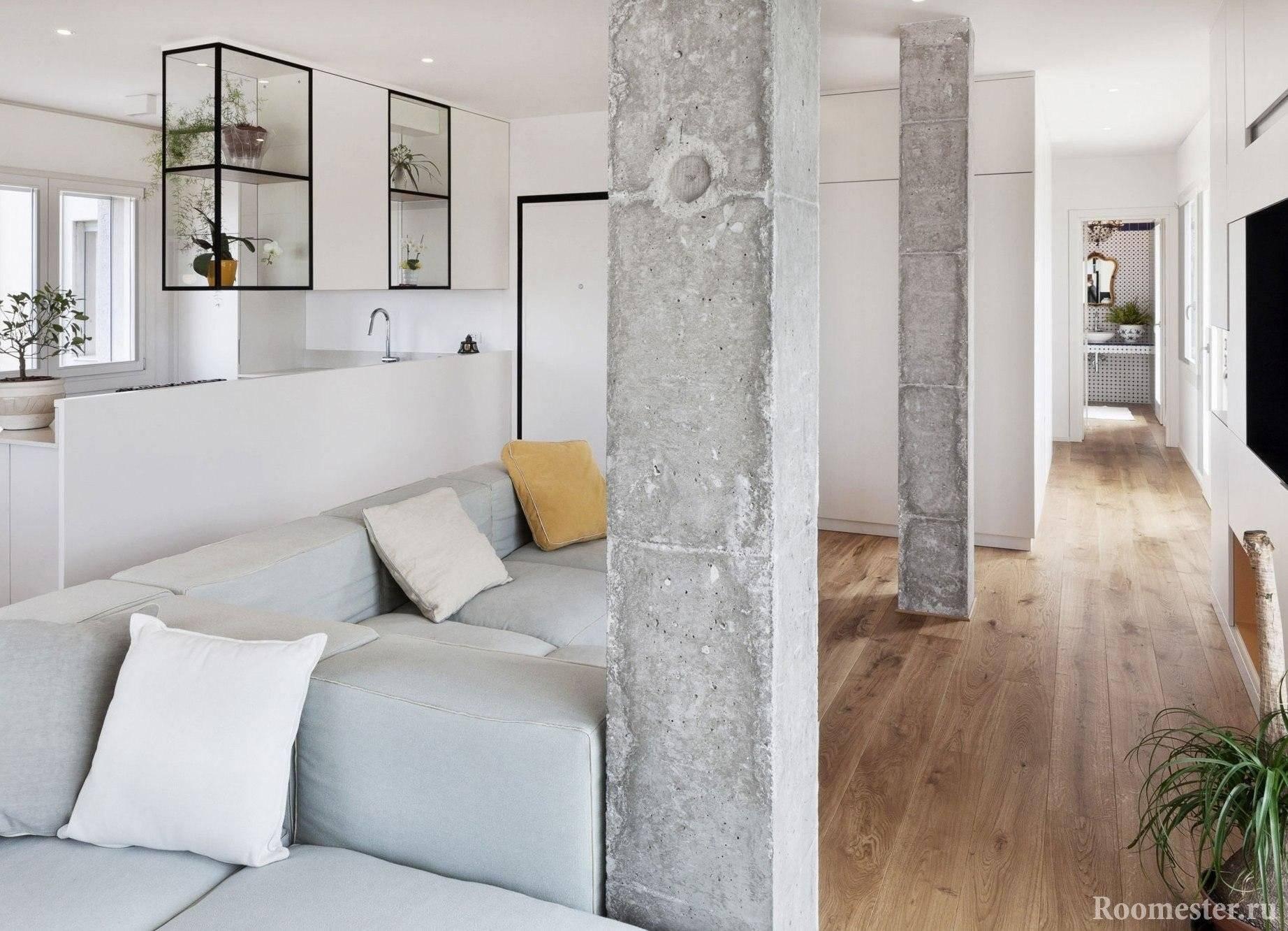 Камень в интерьере гостиной: 40 фото идей облицовки комнаты декоративным материалом