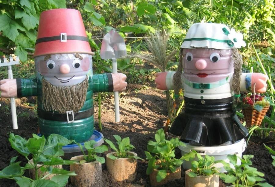 Садовые фигуры своими руками: стильные поделки для дома, сада, дачи и огорода (80 фото)