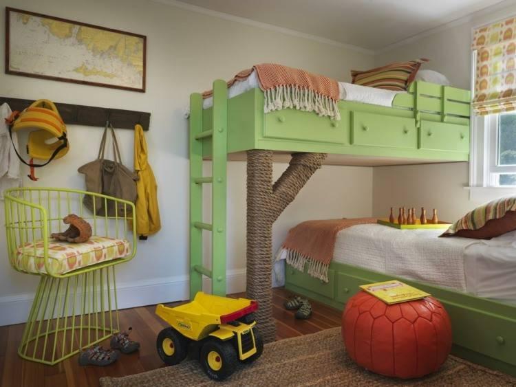 Как правильно оформить дизайн детской комнаты для двоих - требования и рекомендации