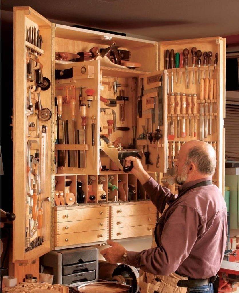 Полки для гаража: устройство стеллажей своими руками