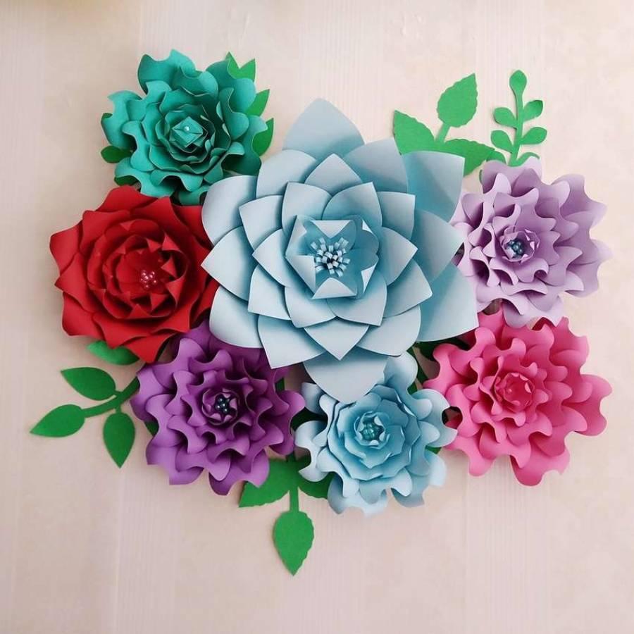 Цветы из бумаги своими руками: 4 мастер-класса, 70 фото и 2 видео