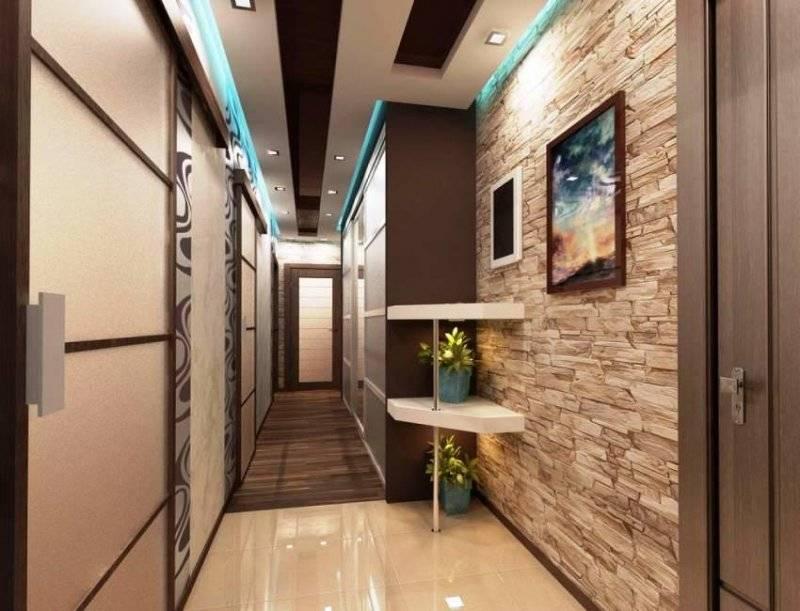 Искусственный камень в отделке коридора: тонкости применения