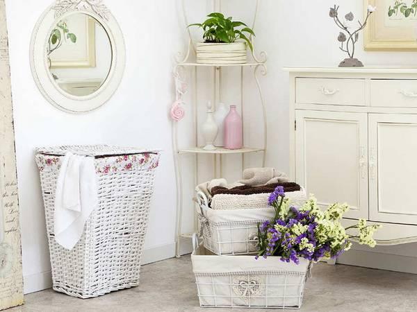 Корзины для белья в ванную: как выбрать правильно