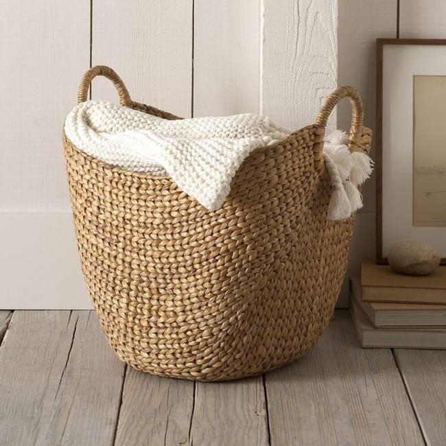 Опрос: где вы прячете корзину для белья?
