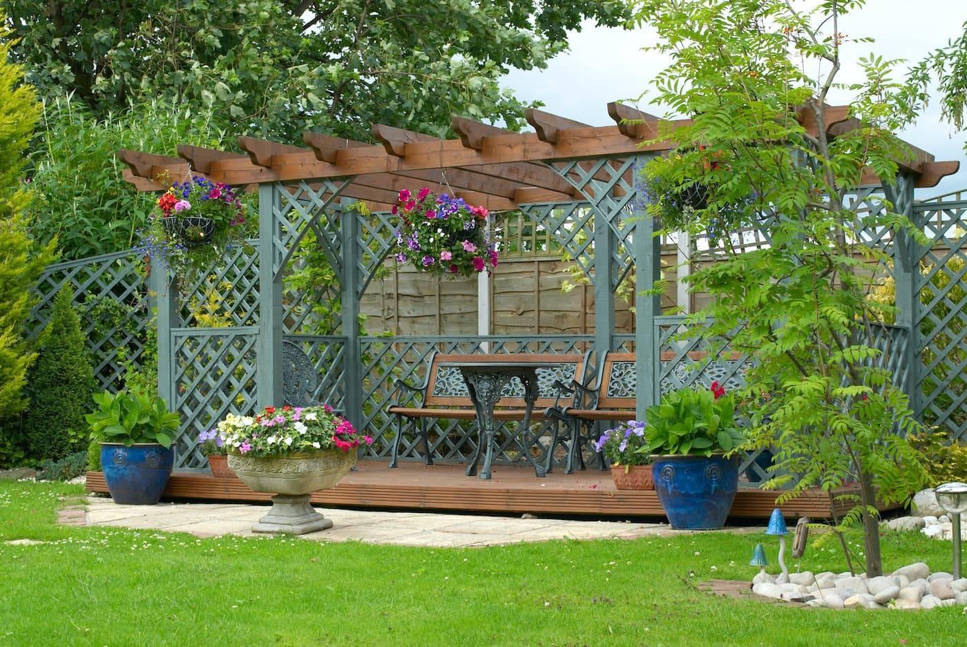 Садовые беседки: 100 фото красивых вариантов дизайна