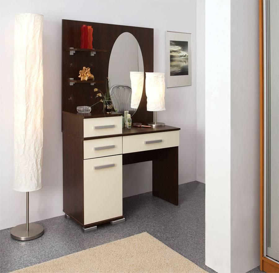 Стол с зеркалом: 135 фото и описание особенностей выбора