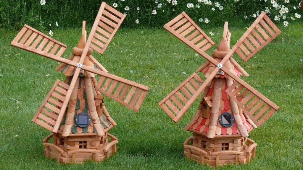 Мельница своими руками для сада: пошаговая инструкция, чертеж, фото идеи