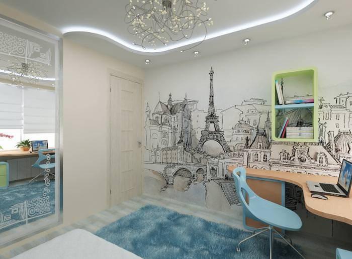 Дизайн комнаты для девочки подростка в современном стиле: идеи и варианты с фото, для двоих в том числе