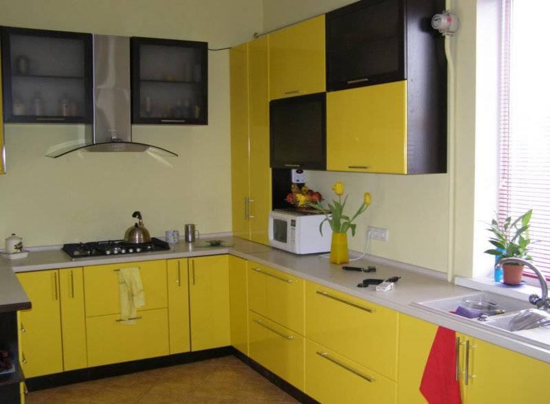 Кухня в желтом цвете: 135+ (фото) интерьеров ярких сочетаний