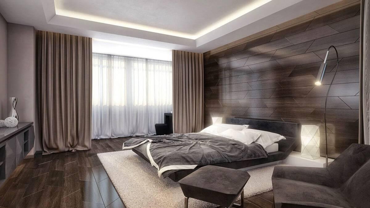 Спальня в стиле хай тек — особенности стиля и оформления