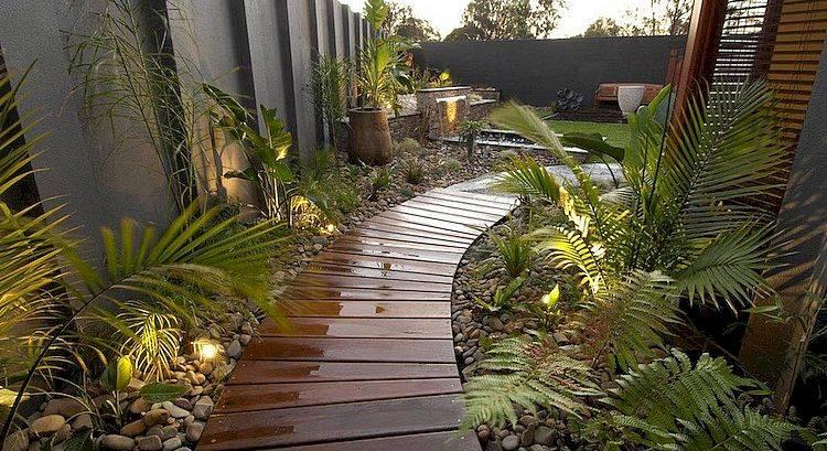 Как сделать садовую дорожку своими руками: 70 вдохновляющих фото + инструкции - лайфхакер