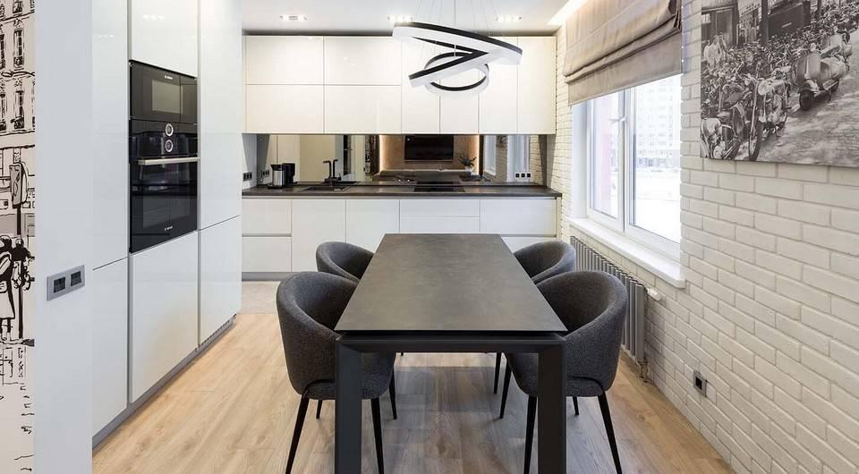 Круглые и овальные столы – удобство и стиль для уютной кухни