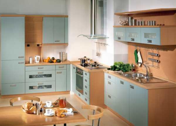Кухня с воздуховодом дизайн