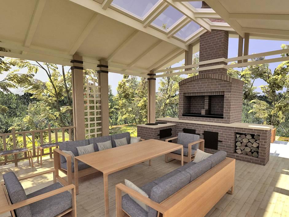 Летняя кухня на даче своими руками: как возвести самому + примеры дизайна