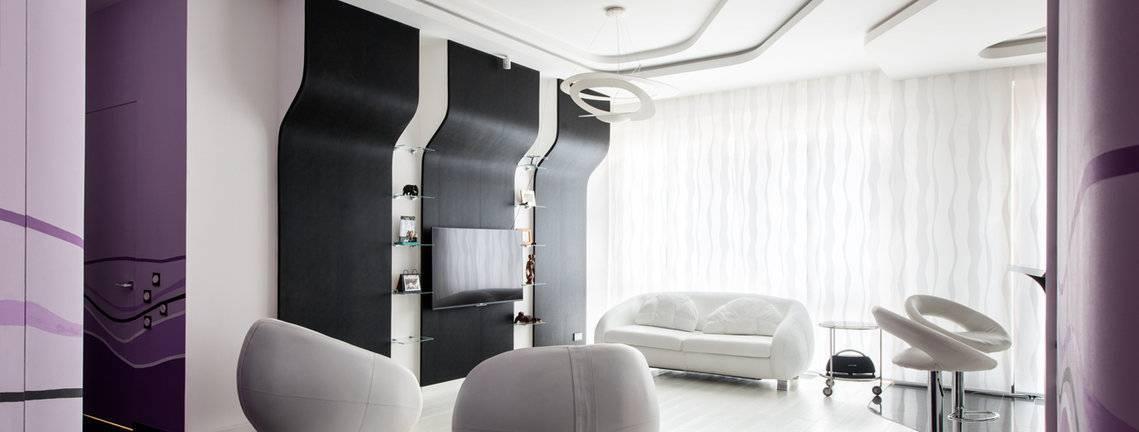 Дизайн интерьера 1-2 комнатной квартиры 45 кв м   вокруг нас