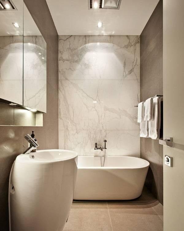Мраморная плитка для ванной: особенности и виды