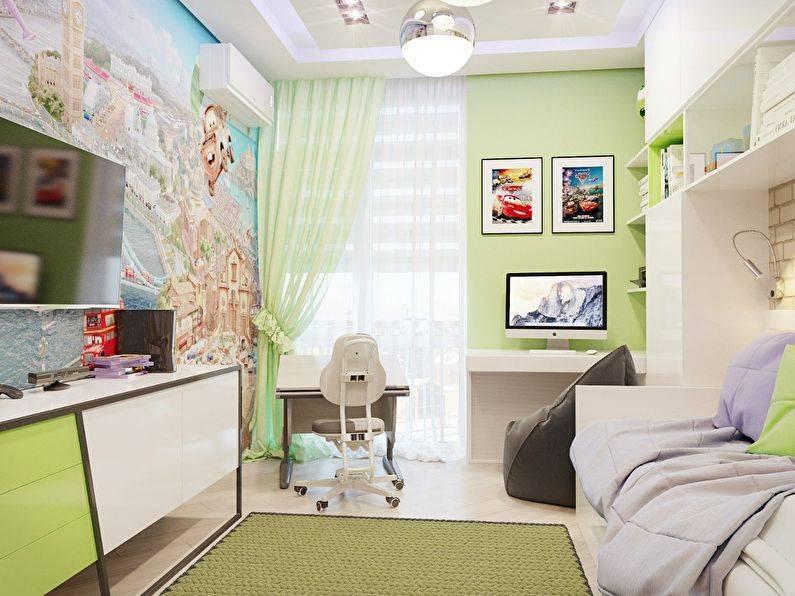 Дизайн маленькой детской комнаты - 80 фото интерьеров после ремонта, красивые идеи