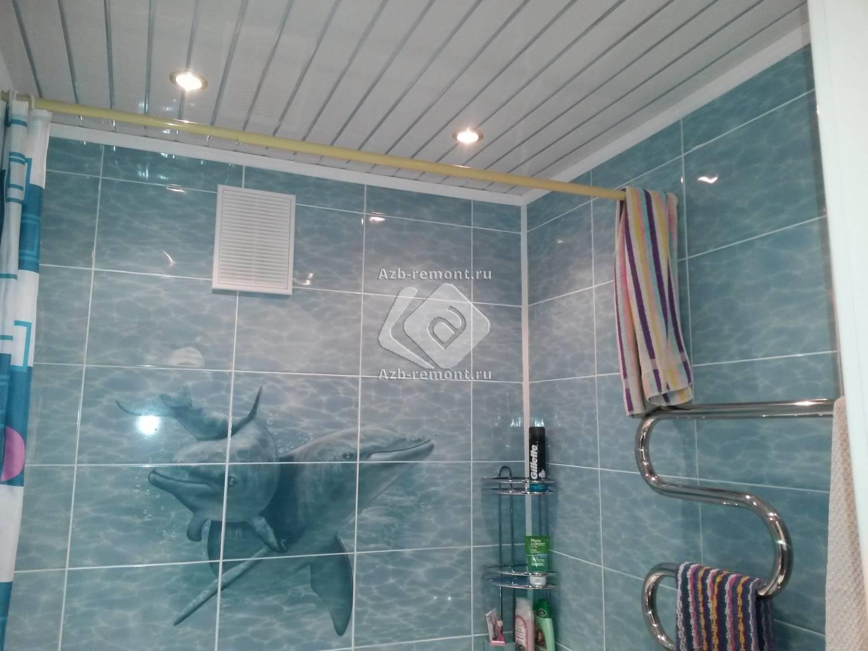 Статья-инструкция по монтажу пвх-панелей на потолок: фото и видео