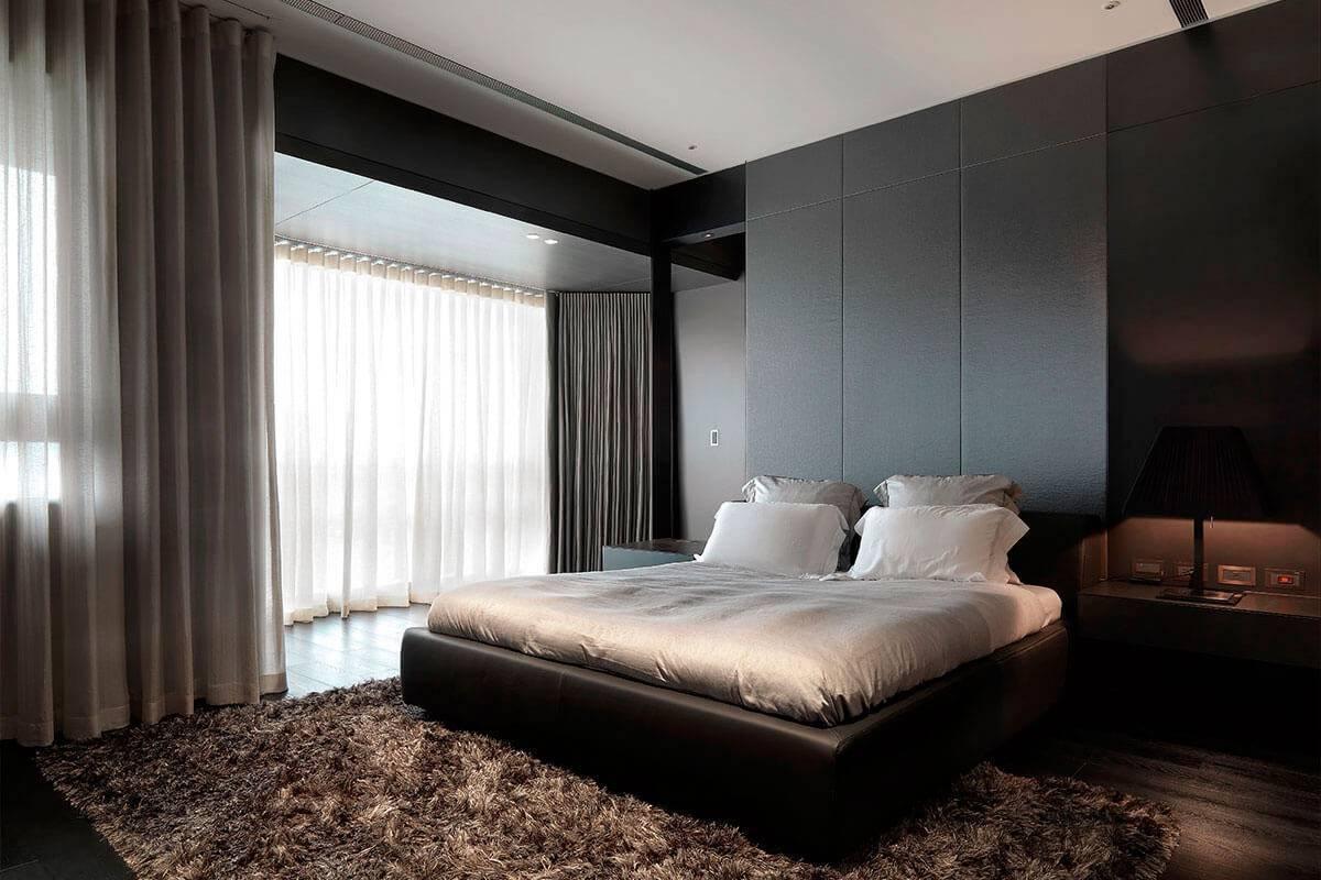 Дизайн спальни в стиле хай тек с фотографиями