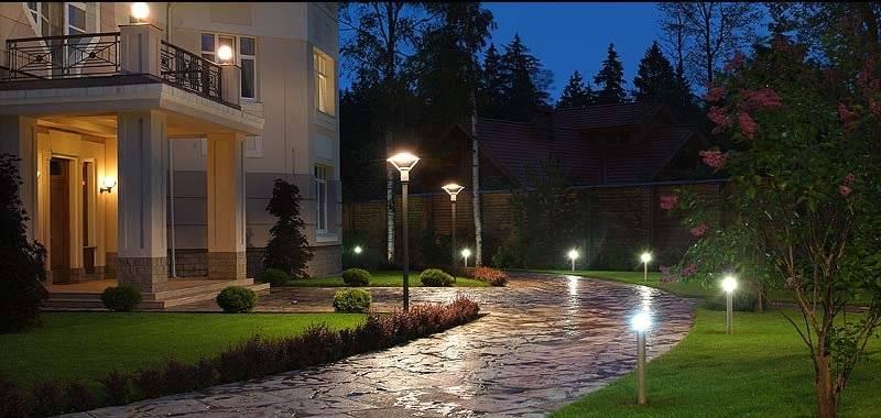 Светильники на солнечных батареях для подсветки участка – rehouz
