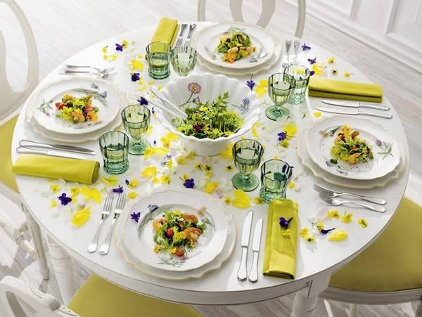 Сервировка стола на день рождения (75 фото): как накрыть и как красиво оформить стол в домашних условиях, идеи оформления