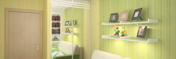 Спальня и детская в одной комнате: 75 фото и идея зонирования