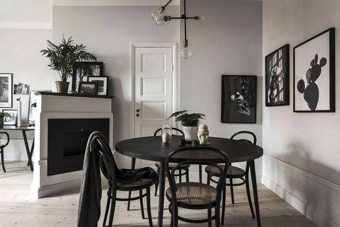 Потолок в кухне, совмещенной с гостиной: дизайн, освещение, современный стиль - 22 фото