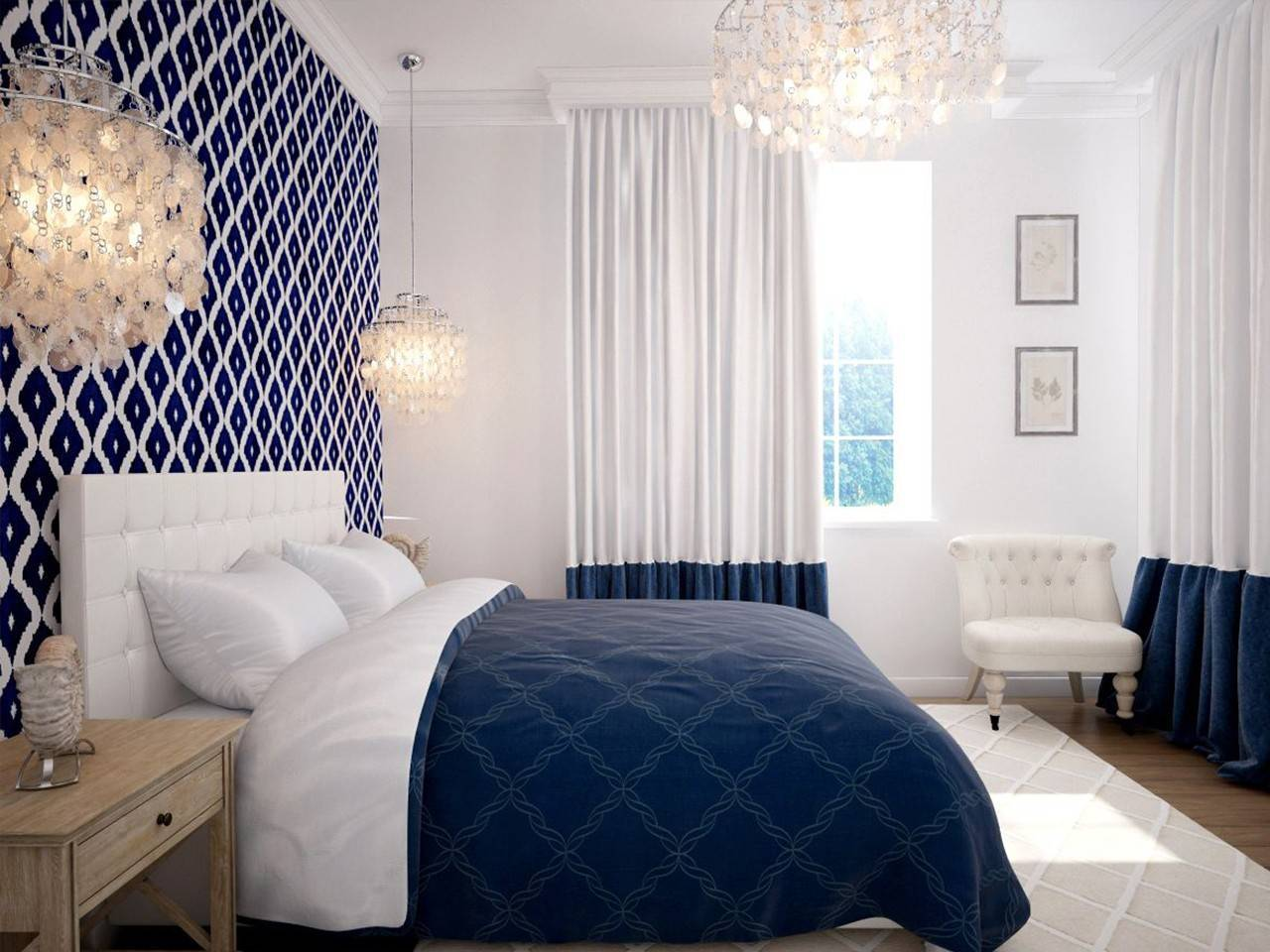 Дизайн маленькой спальни 9 кв м – фото интерьера маленьких спален 3 на 3