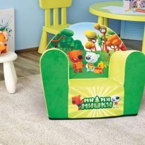 Мягкие детские кресла - какие бывают модели   фото