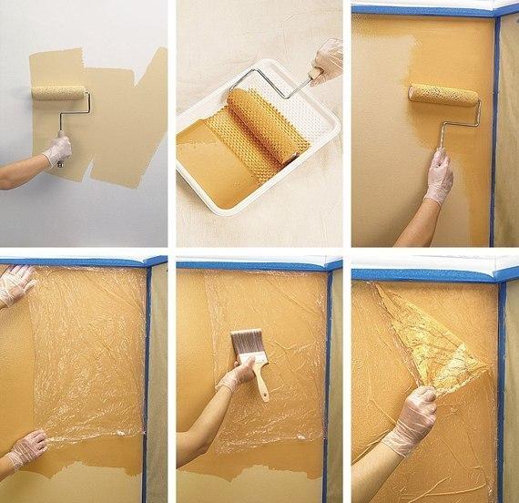 Как самостоятельно покрасить стены водоэмульсионной краской?