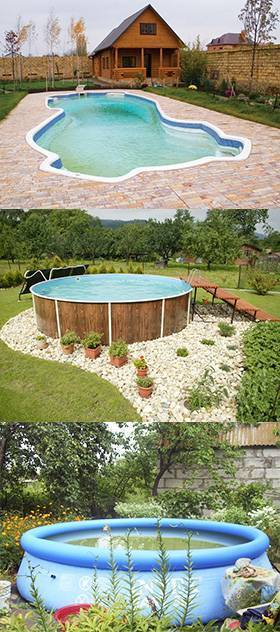 Крытый бассейн для дачи: все виды конструкций +фото - как выбрать +фото и видео
