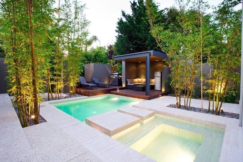 Креативные идеи бассейнов во дворе своими руками