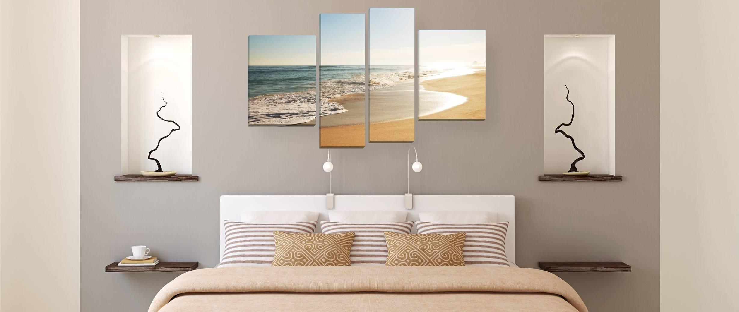 Картины в спальню: 100+ фото [идеи интерьера спальни 2019 года]