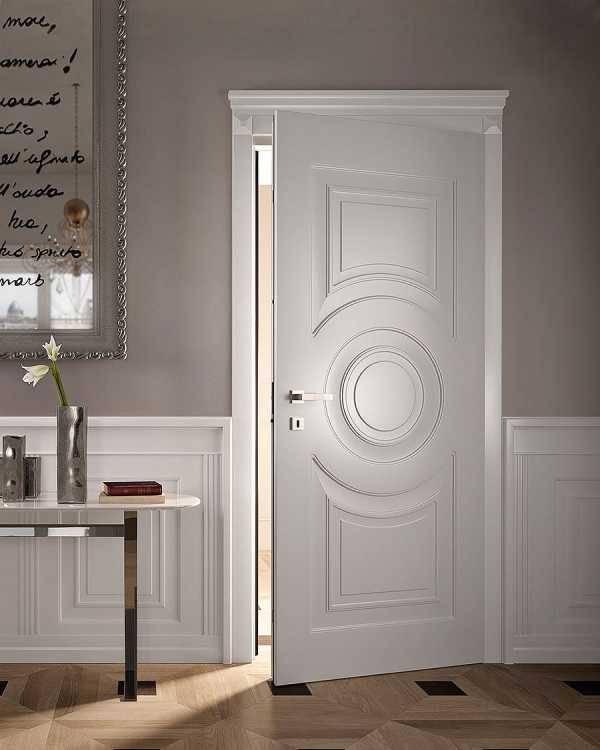 Белые двери в интерьере. 50 фото стиль без сомнений