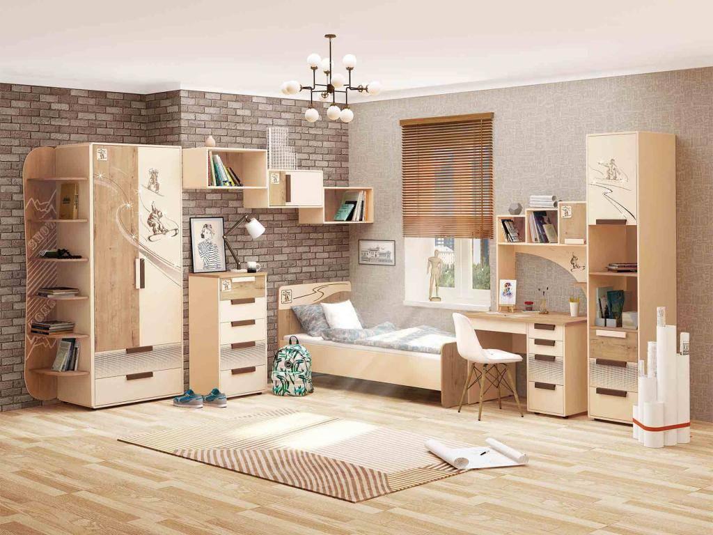 Шкаф для девочки подростка: критерии выбора, модели, фото