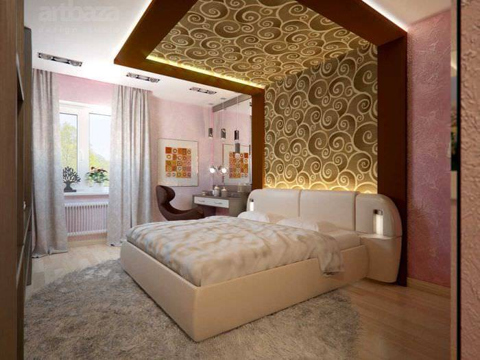 Декор стен в спальне — обзор лучших идей и советов по оформлению оригинального декора своими руками (140 фото новинок)