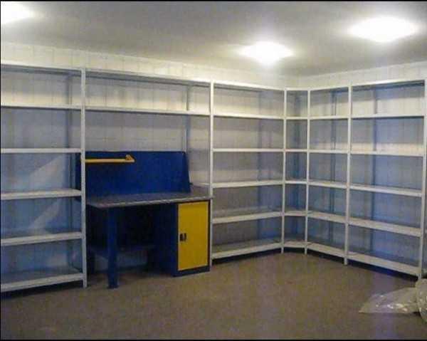 Стеллажи для гаража: 95 фото вариантов удобной компактной расстановки