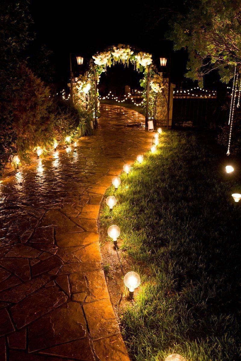 Светильники на солнечных батареях для автономной подсветки сада и участка